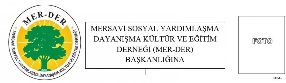 MER-DER ÜYELİK FORMU